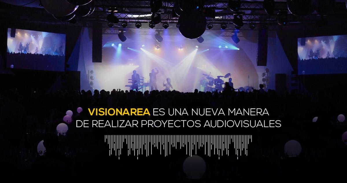 Servicios audiovisuales de eventos y alquiler de equipos – Visionarea